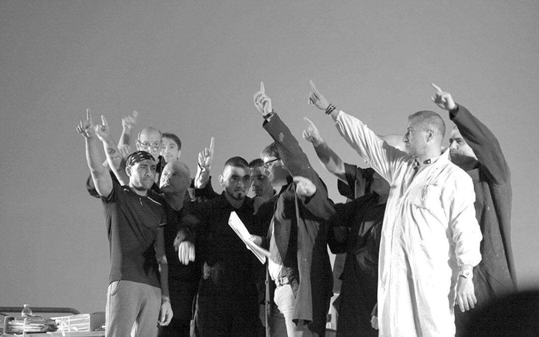Rappresentazione teatrale dei detenuti a Bancali (SS)