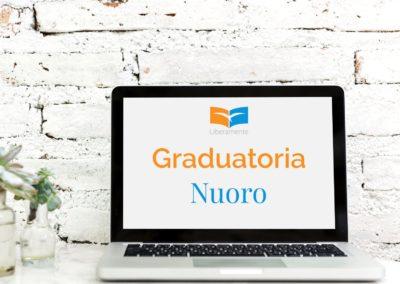 Oltre i confini Nuoro: graduatoria finale